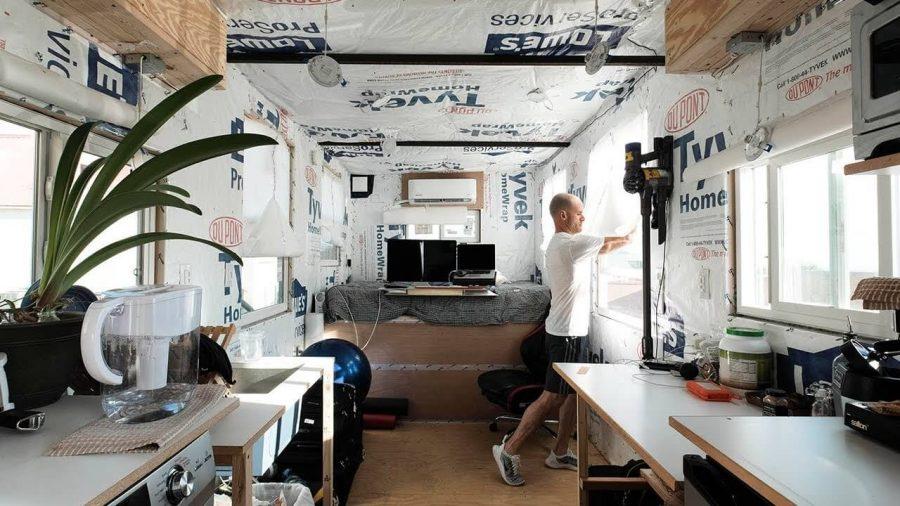 Tiny house ventilation