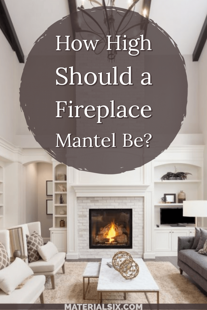how high should a fireplace mantel be