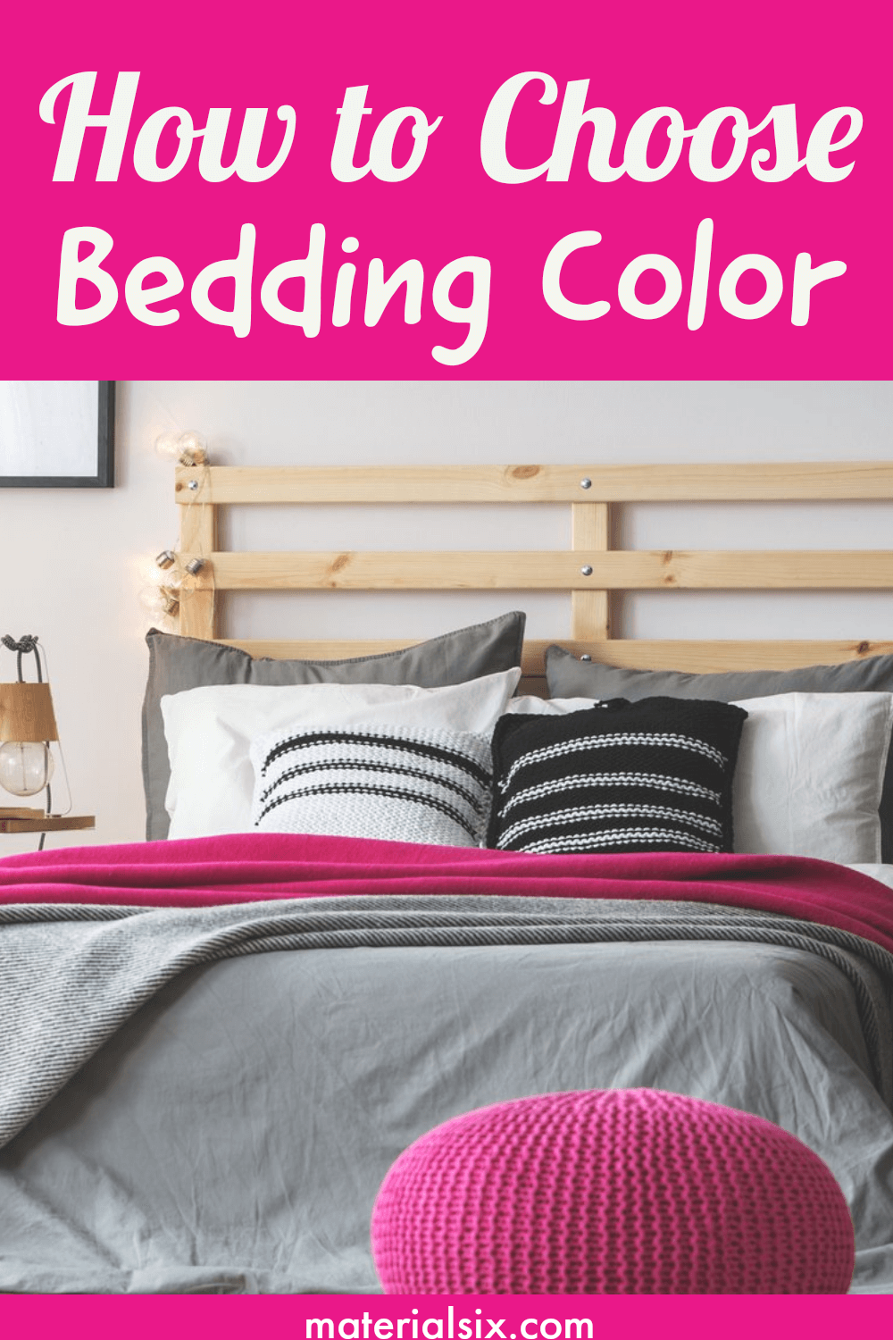 how to choose bedding color