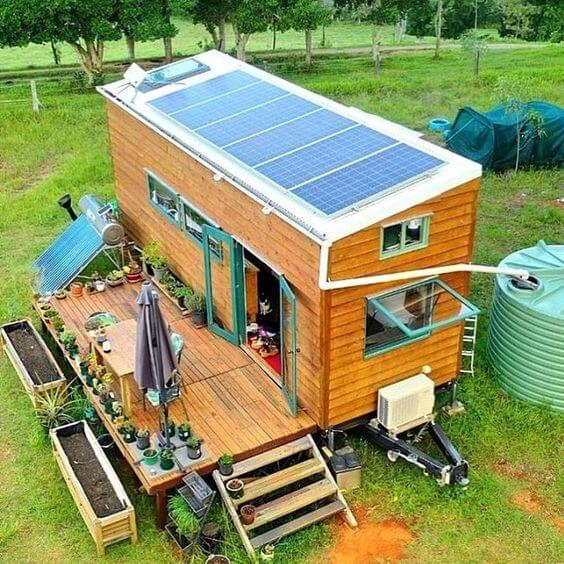 Eco Tiny House Off-Grid Living