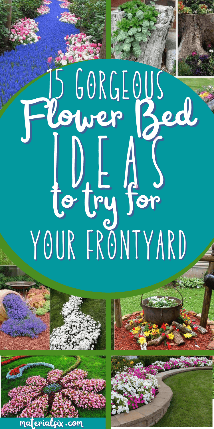 15 Gorgeous Flower Bed Design Ideas for Your Front Yard (1)
