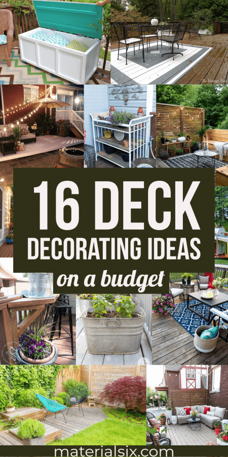 16 Deck Decorating Ideas on a Budget