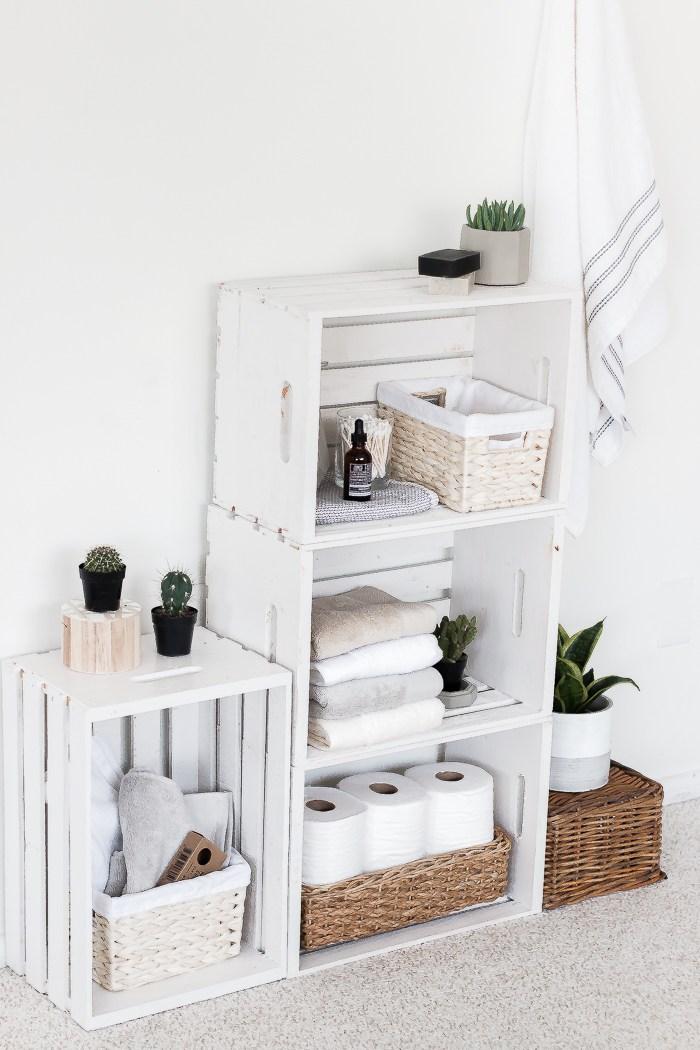 Bathroom Shelves Organizer