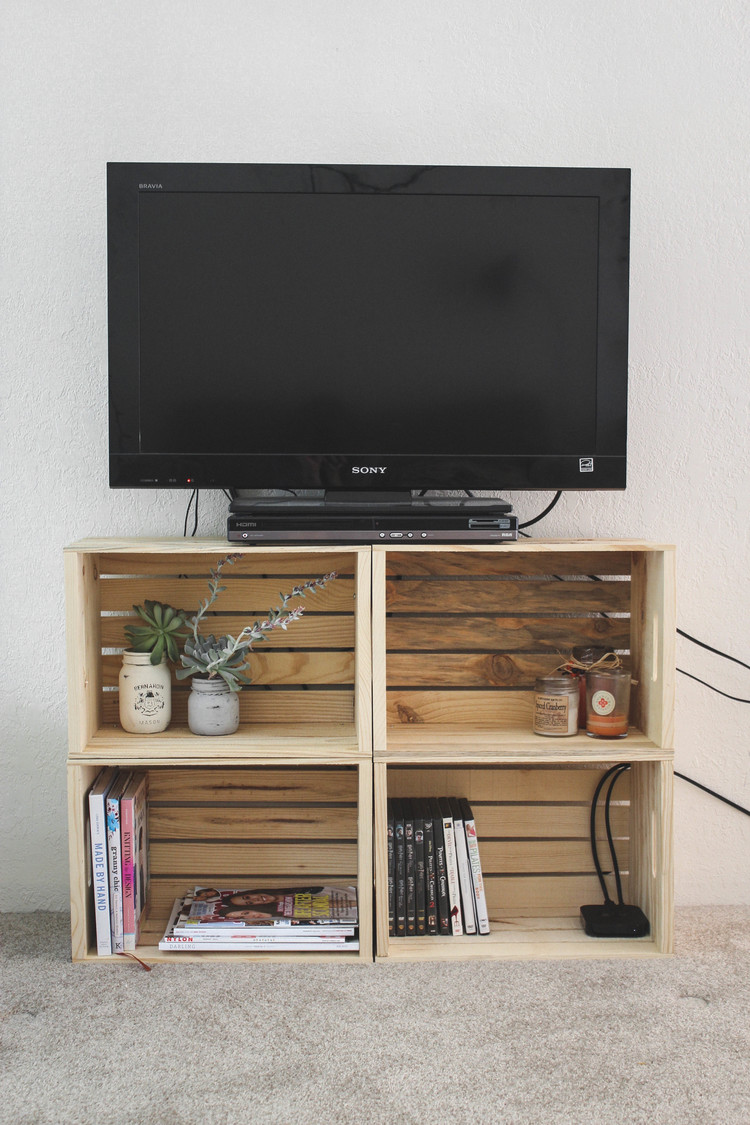Crate TV Stand