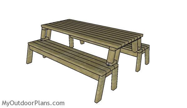 Folding Picnic Table Plans