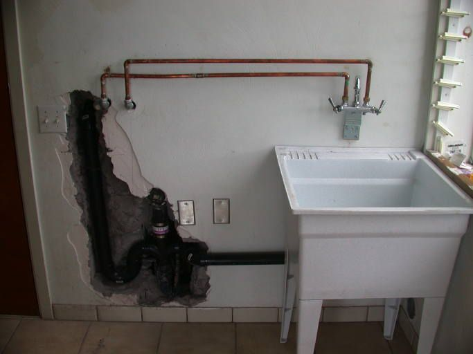 How to Install a Utility Sink in Garage