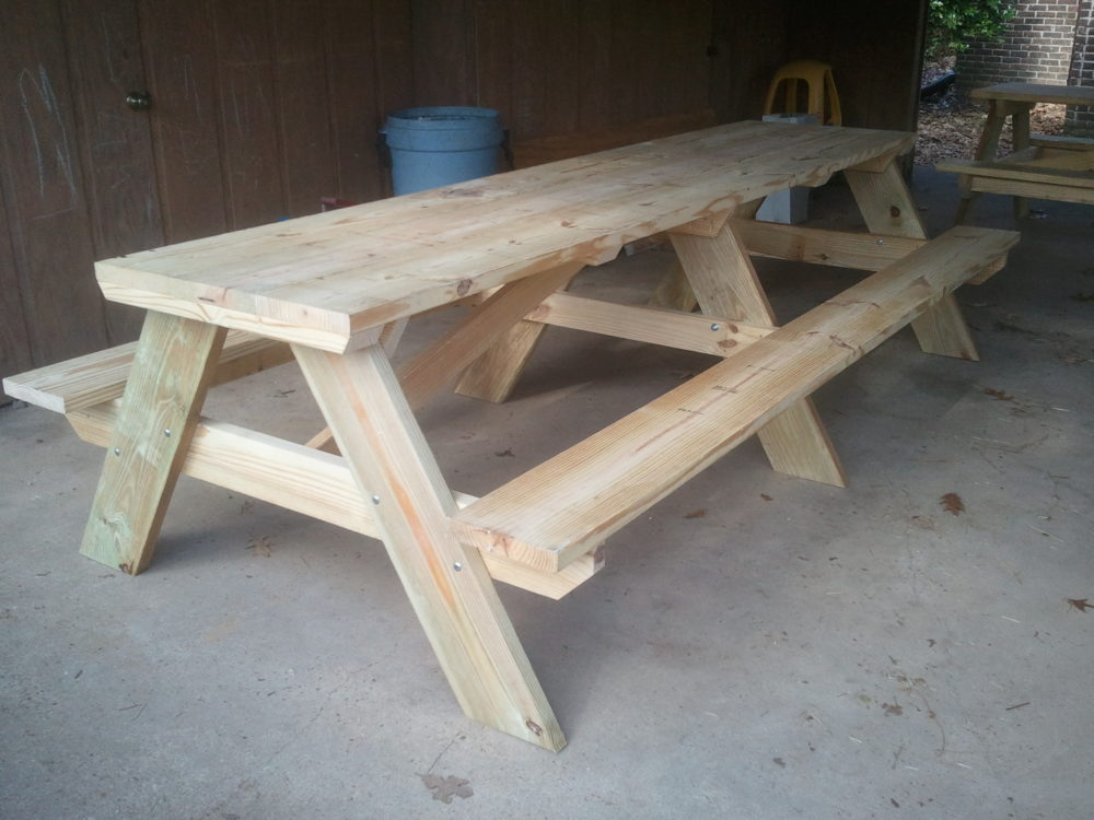 The 10 Foot Picnic Table