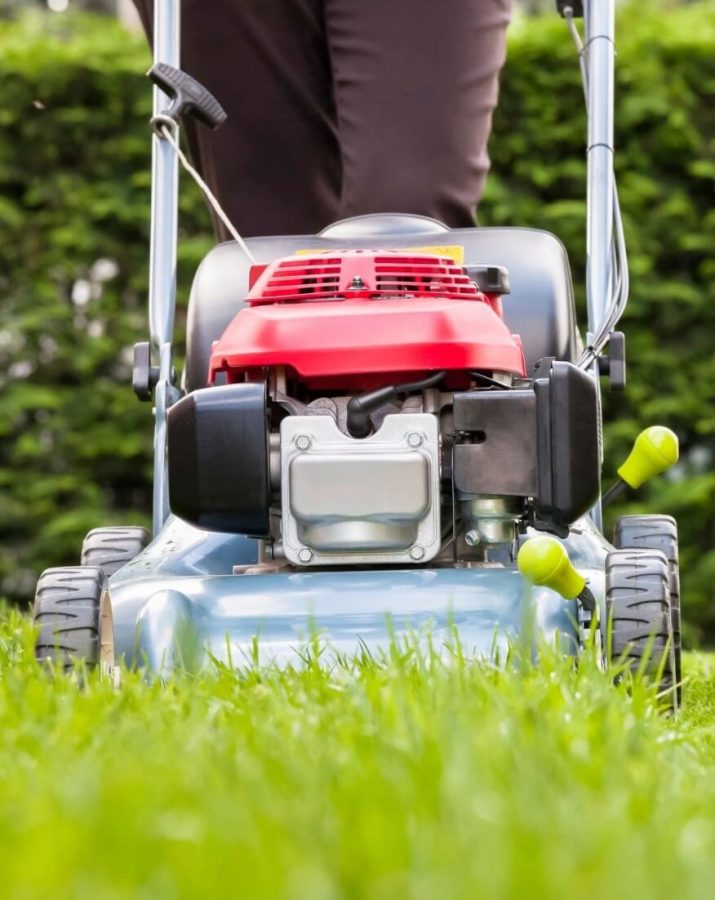 Can you put car oil in the lawn mower?