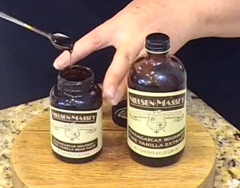 Vanilla Extract to get rid smell on your hands