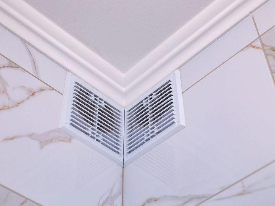 Venting bathroom fan into an attic