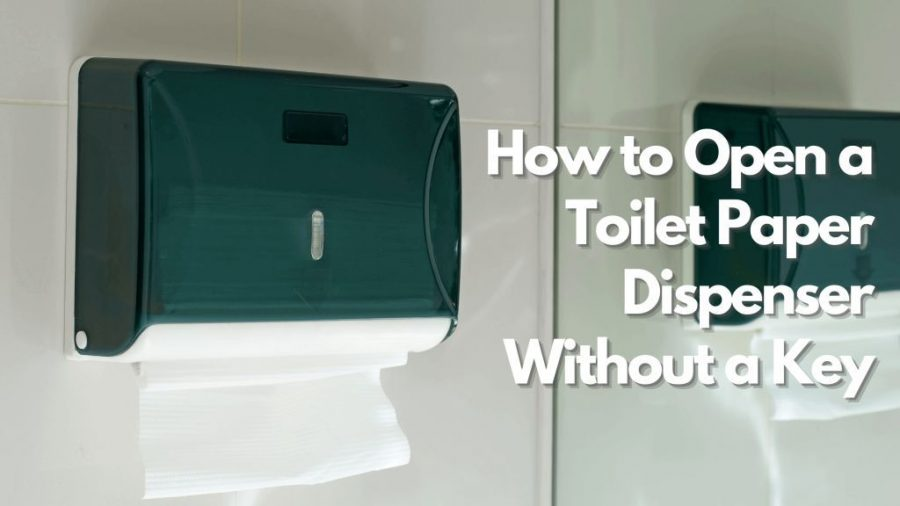 How to Open a Toilet Paper Dispenser Without a Key