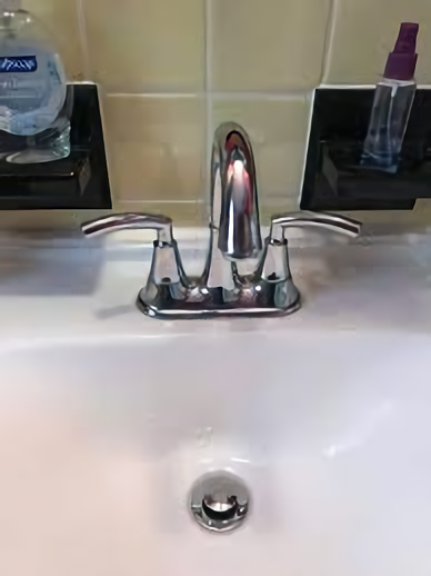 How to Remove Bathroom Sink Faucet Handle That has No Screw