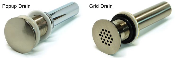How to Install a Vessel Sink Drain without Overflow
