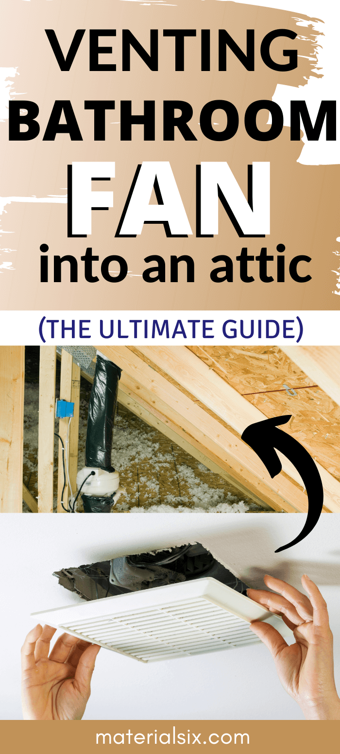 How to Install a Bathroom Vent Fan Into An Attic