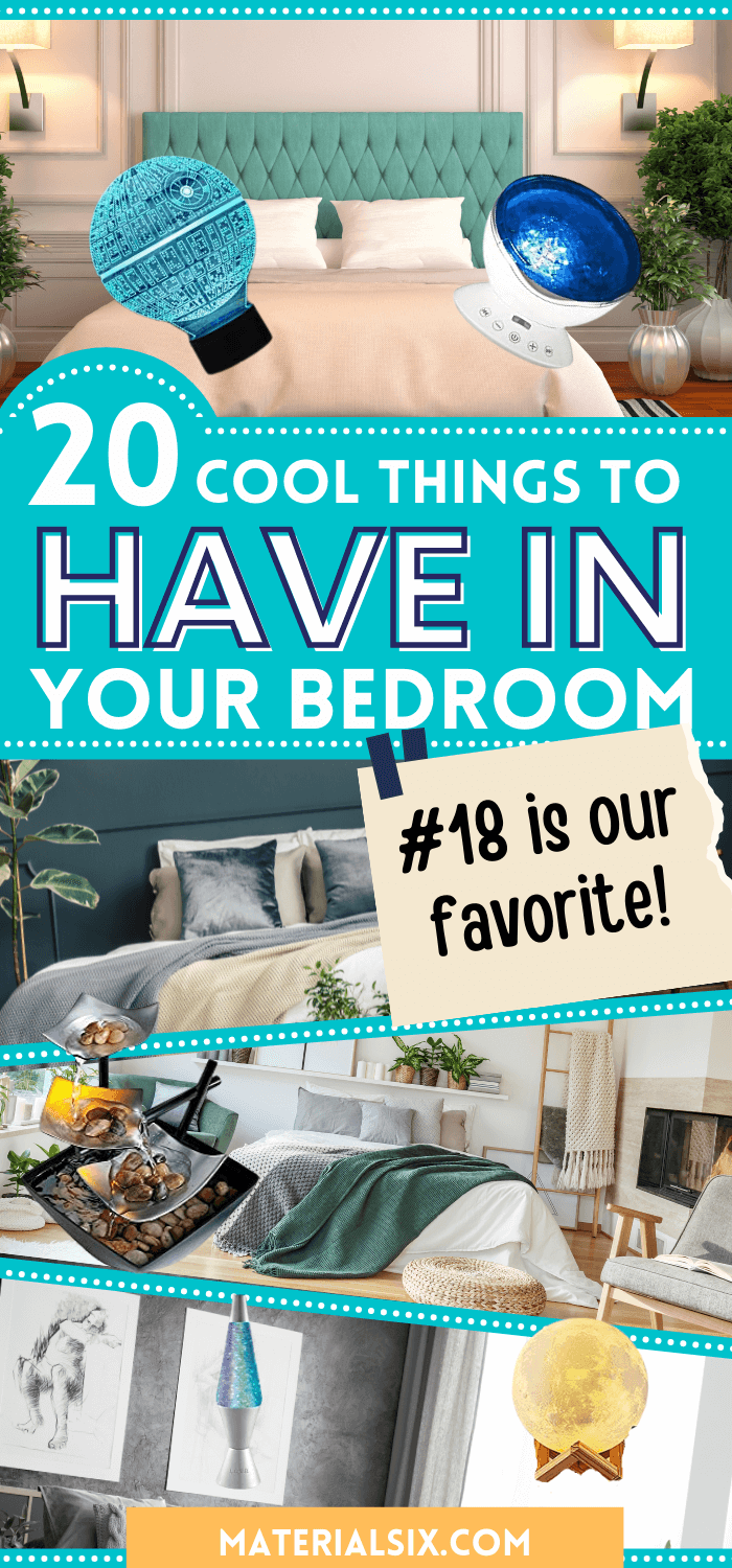 21 Cool things to have in your bedroom you can buy on Amazon