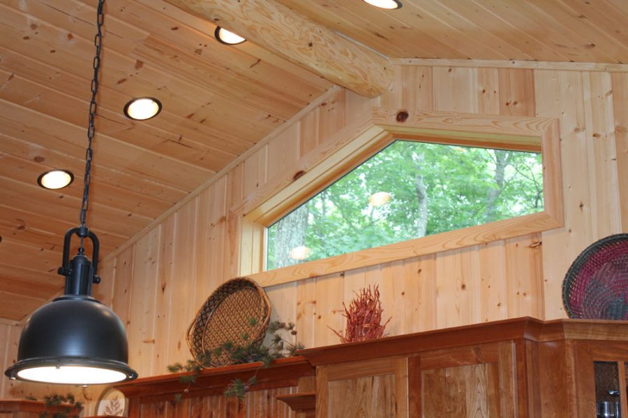 Types Of Wood Wall Paneling - Tongue and Groove Paneling