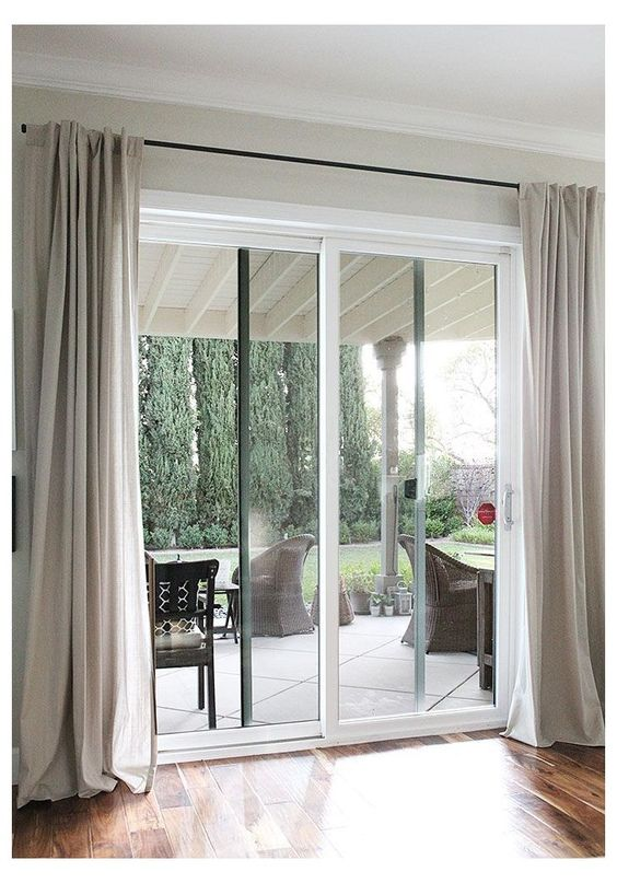 How Many Curtain Panels Do You Need For A Sliding Glass Door?