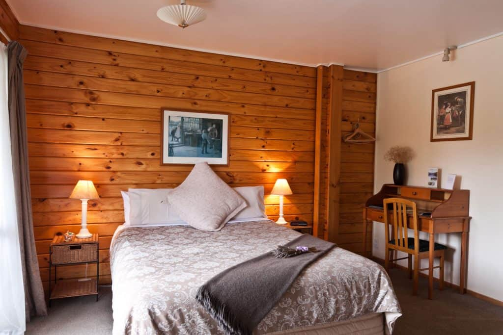 how to decorate wood paneling without painting