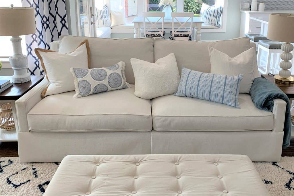 Things to Put under Couch Cushions to Prevent Sagging & Sinking