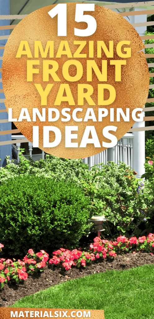 15 stunning front yard landscaping ideas