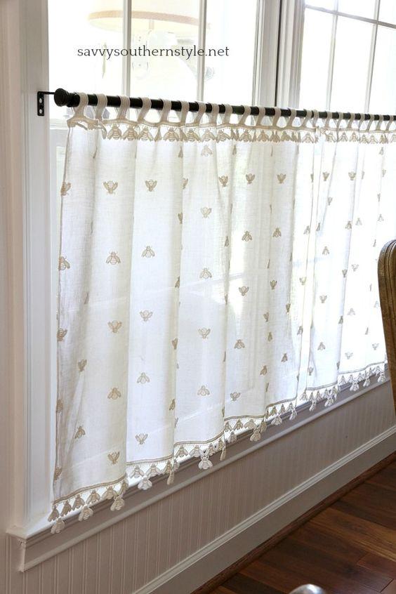 Café Curtains - Types of Kitchen Curtains