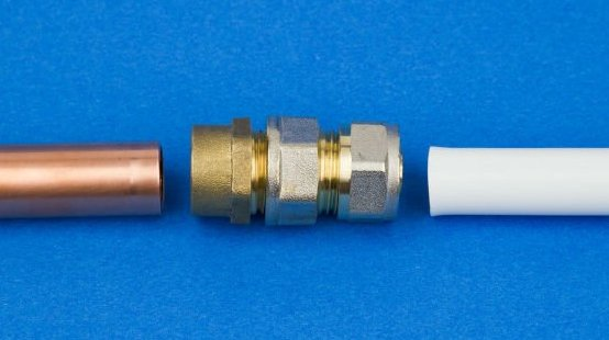 Connecting_PEX_to_Copper_with_Fittings - How to Connect PVC to Copper