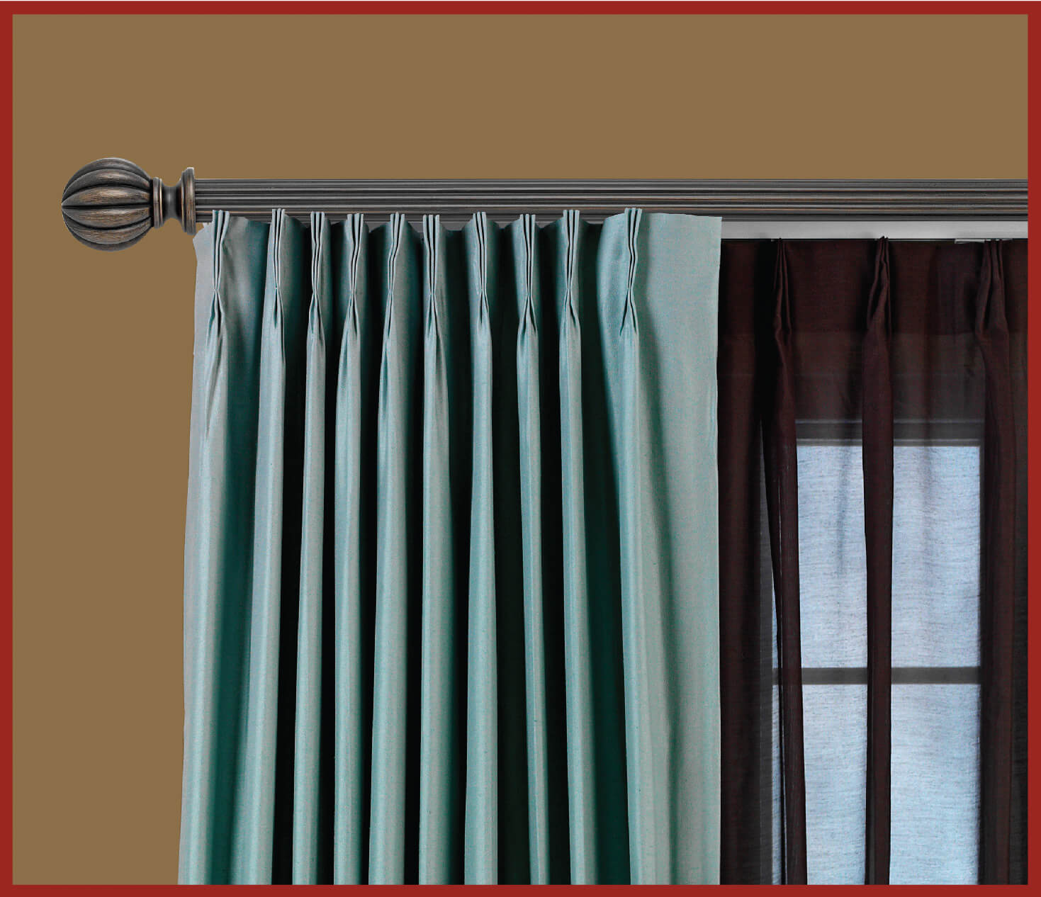 what curtains to use with traverse rod