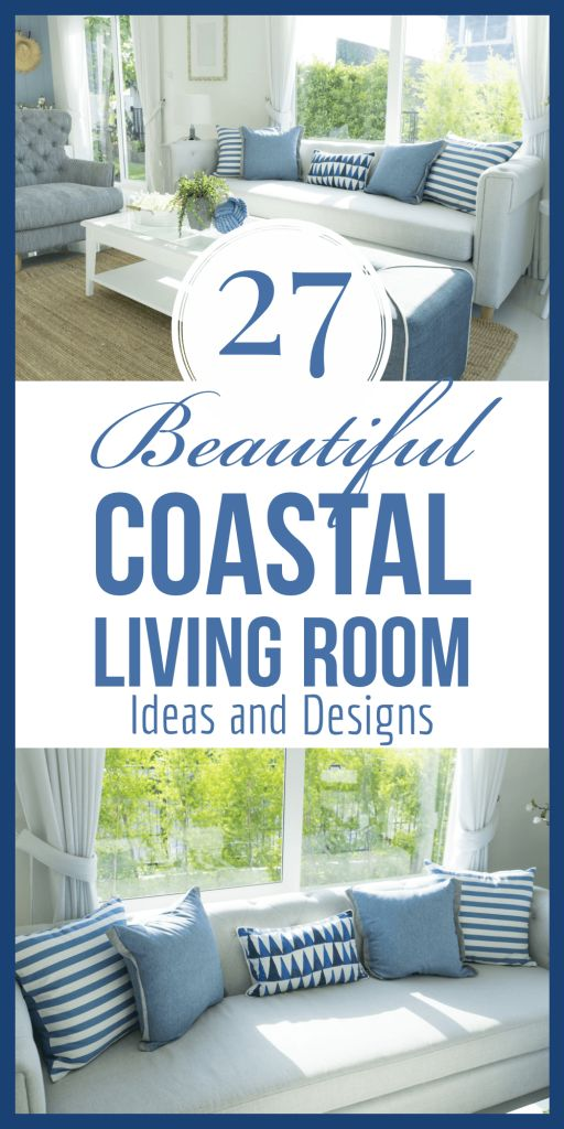 17 Beautiful Coastal Living Room Ideas and Designs