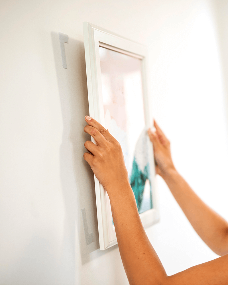 How To Hang Heavy Frames Without Nails