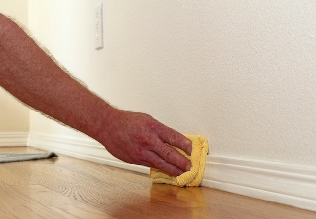 How to Remove Paint from Baseboards