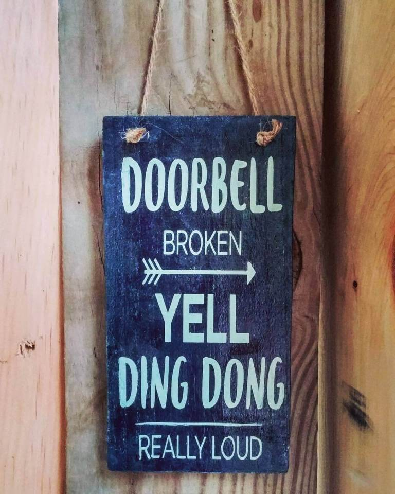 Amusing Front Porch Sign Sayings