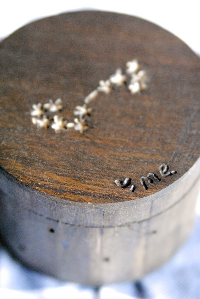 Wooden Constellation Box - how-to-use-dremel-tools-carve-wood