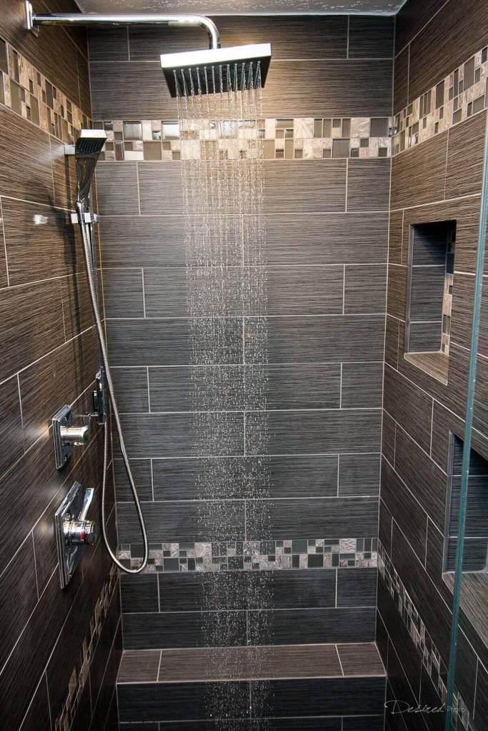 Palmer Dark Grey Tiles - Shower tile ideas