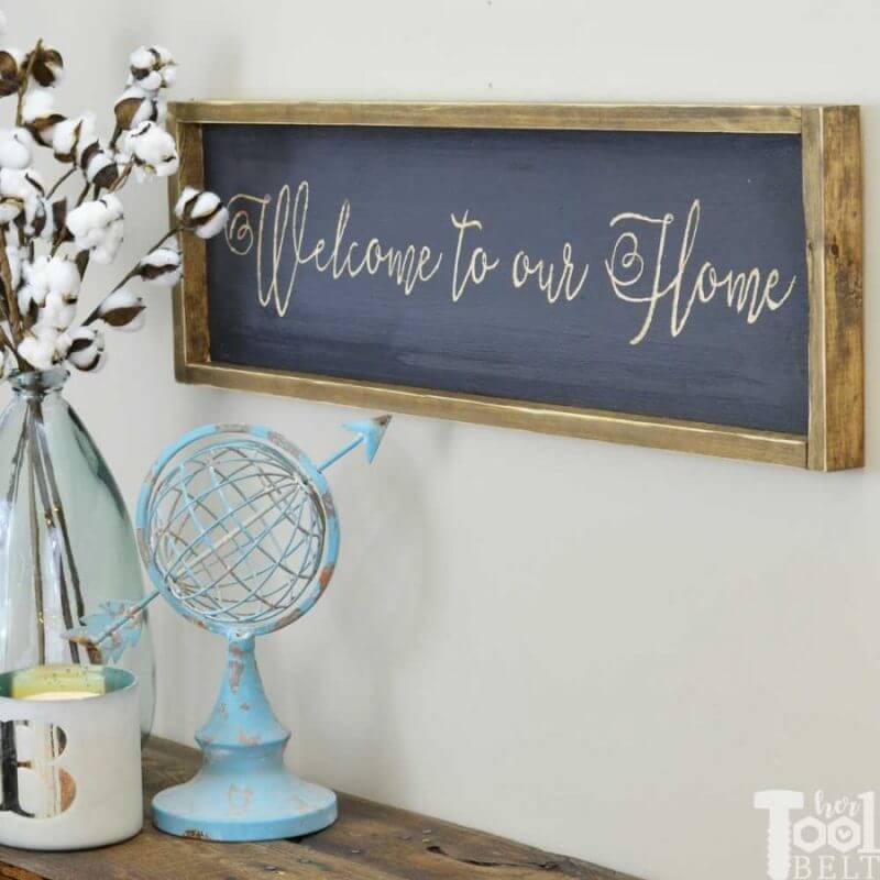wooden-farmhouse-sign - dremel projects