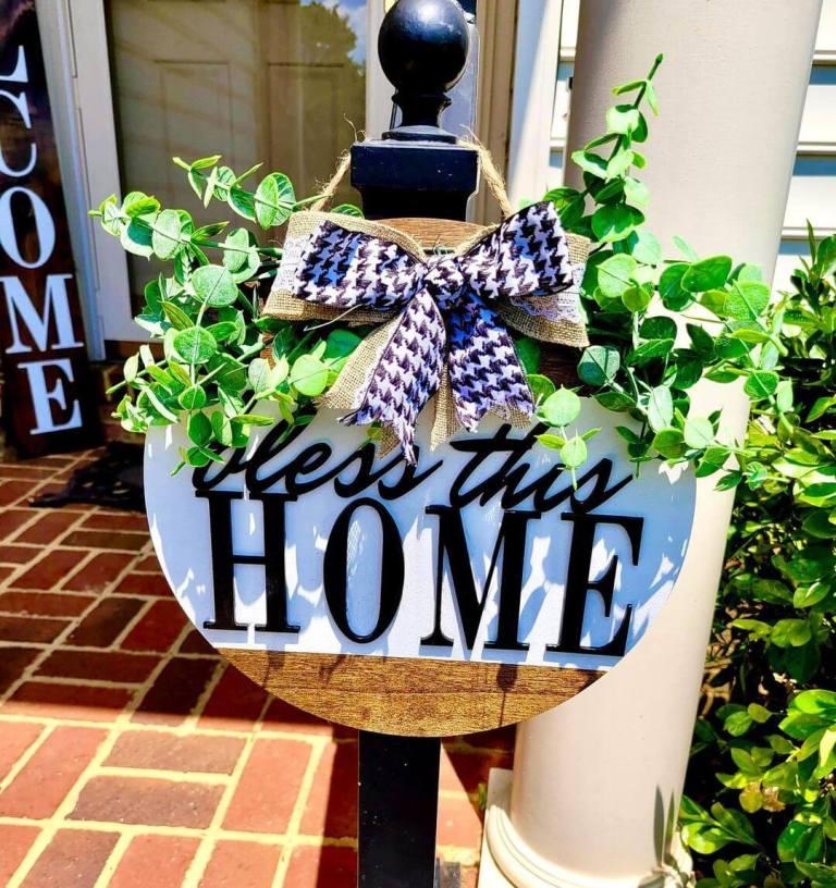 High Welcome Sign & Door Hanger Sayings (3)