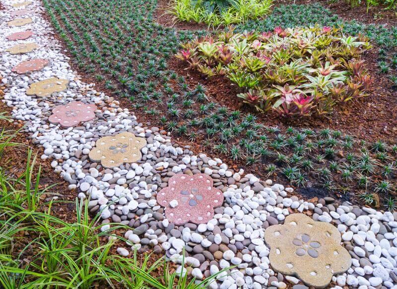 Flower Shaped Pathways