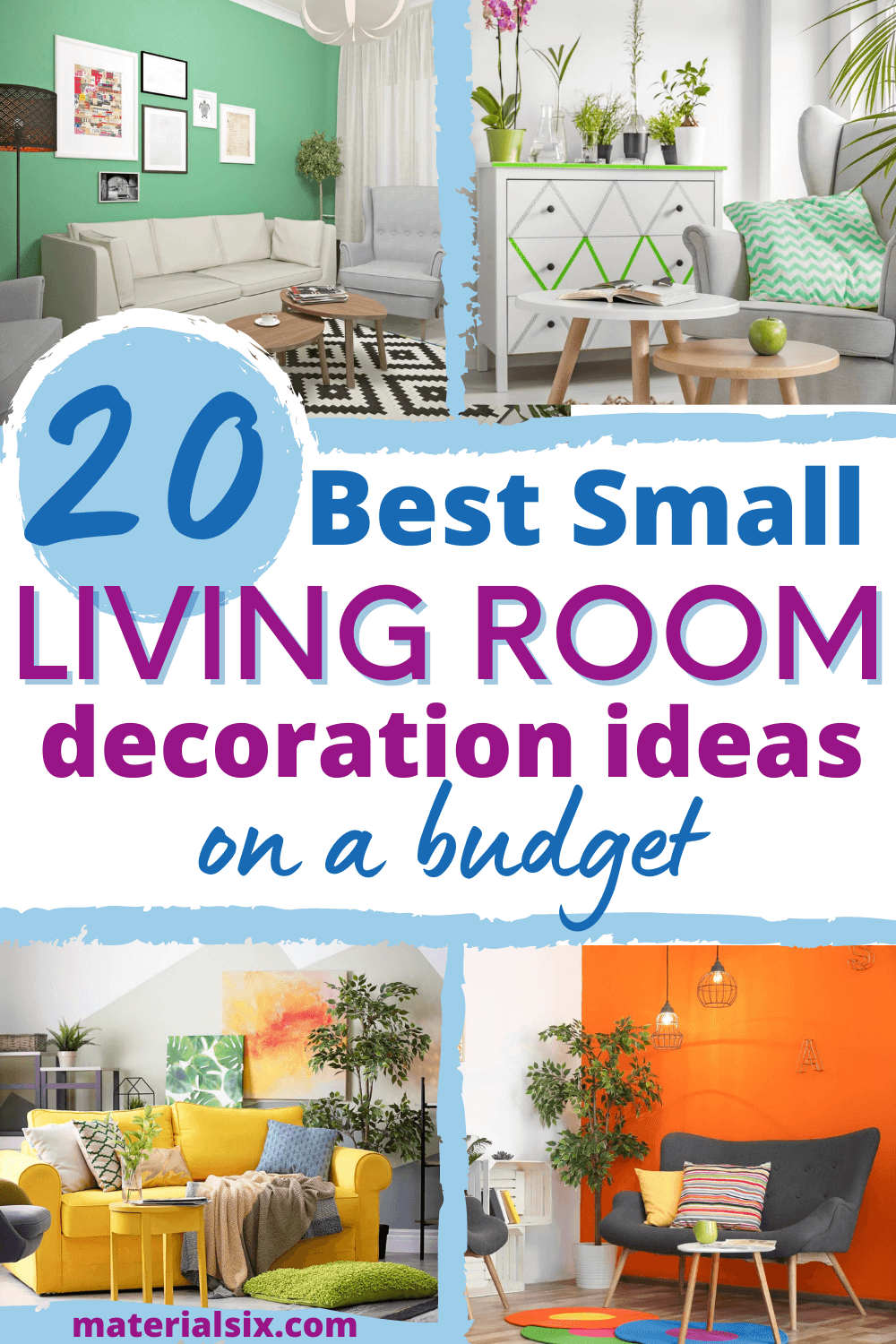 20 Best Small Living Room Decor Ideas On A Budget (with Photos)