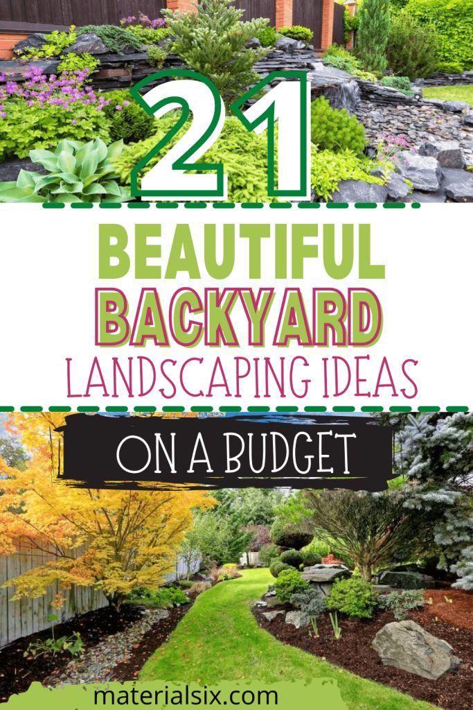 Beautiful Backyard Landscaping Ideas On A Budget