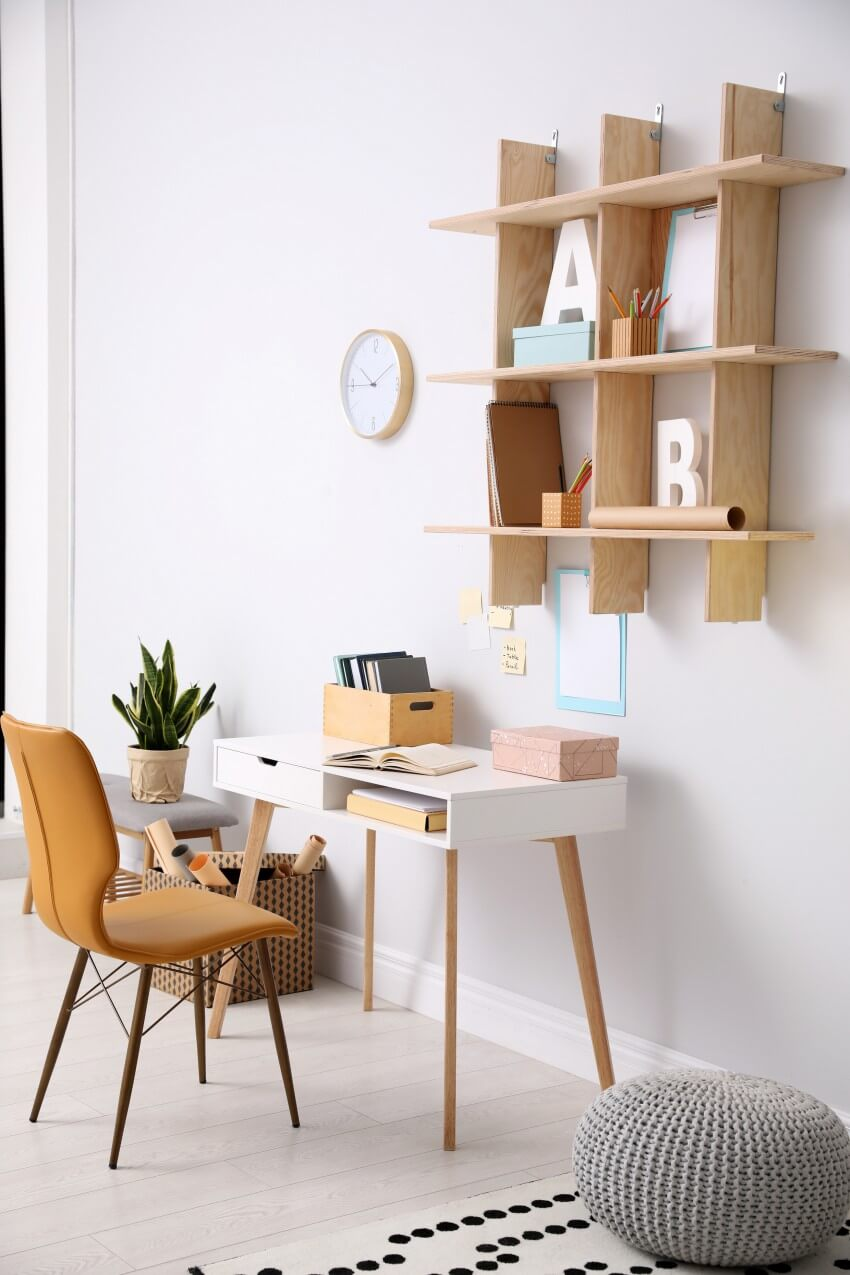 Scandinavian Style of Home Office