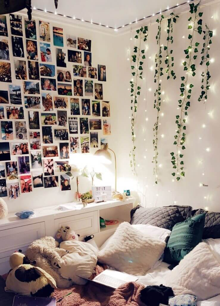Aesthetic Room with Vines