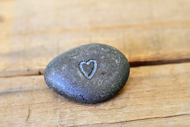 Carved Rocks - immortalized-in-stone - dremel craft ideas