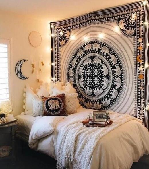 Boho Tapestry - aesthetic bedroom ideas