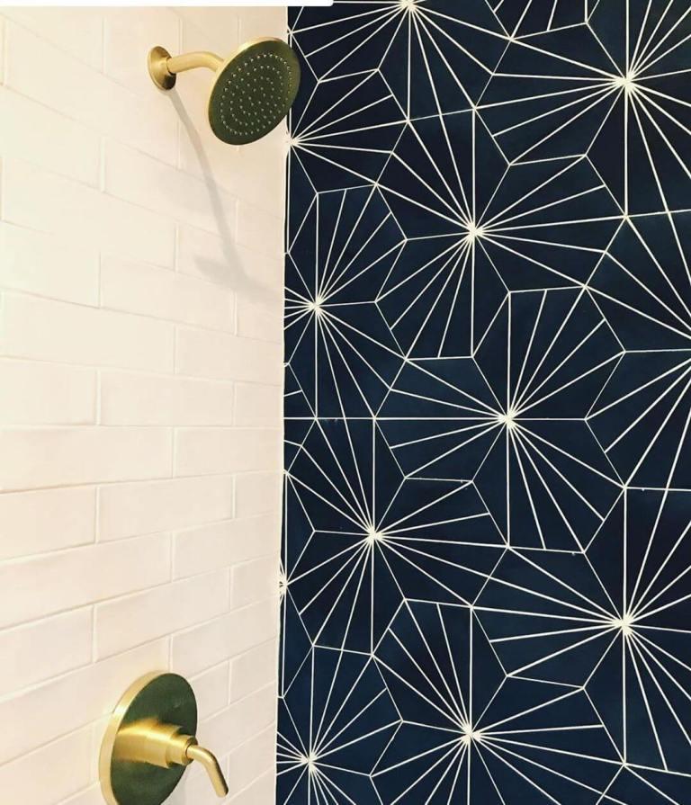 Constellation Scheme - Shower tile ideas