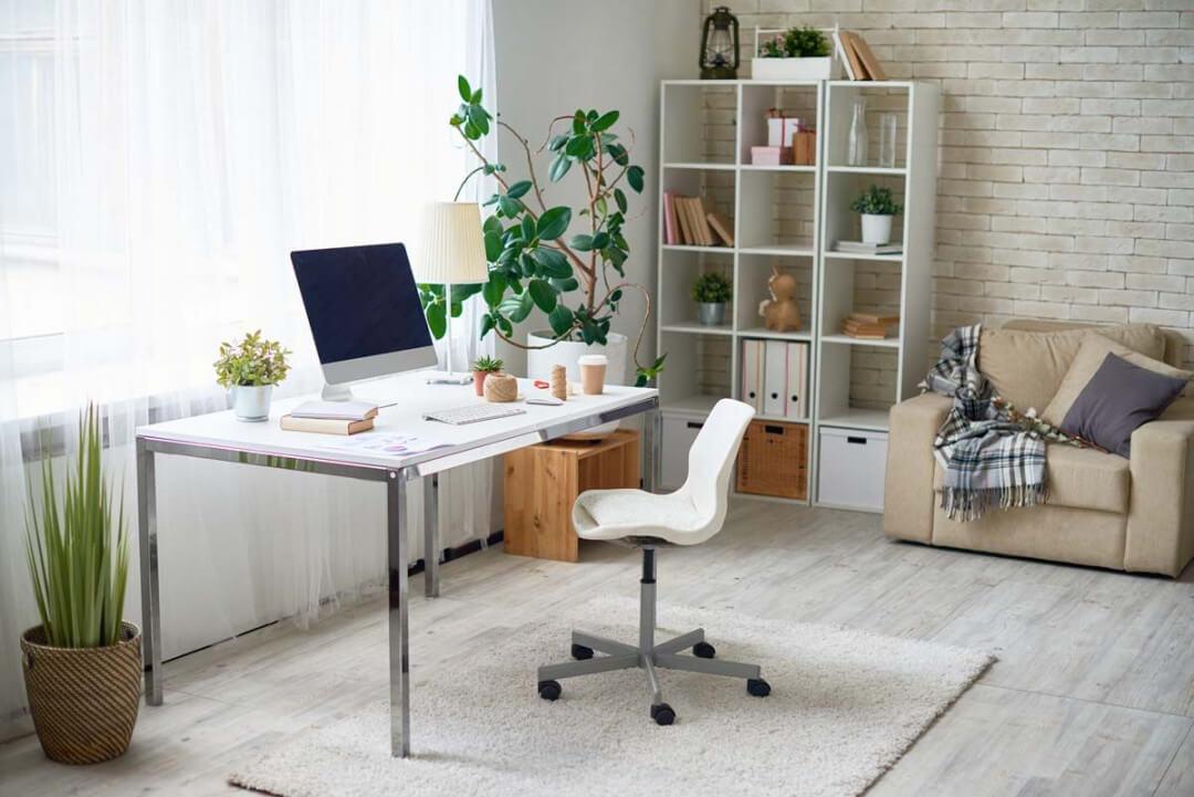 Modern Office in Rustic Space
