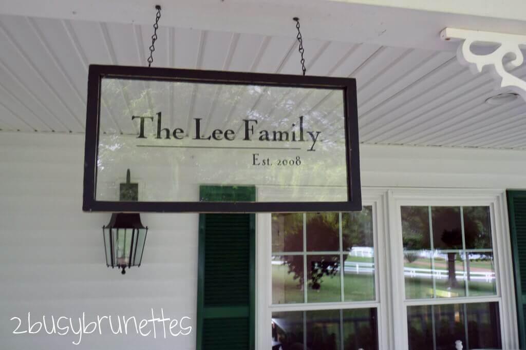Old Window Frame Surname