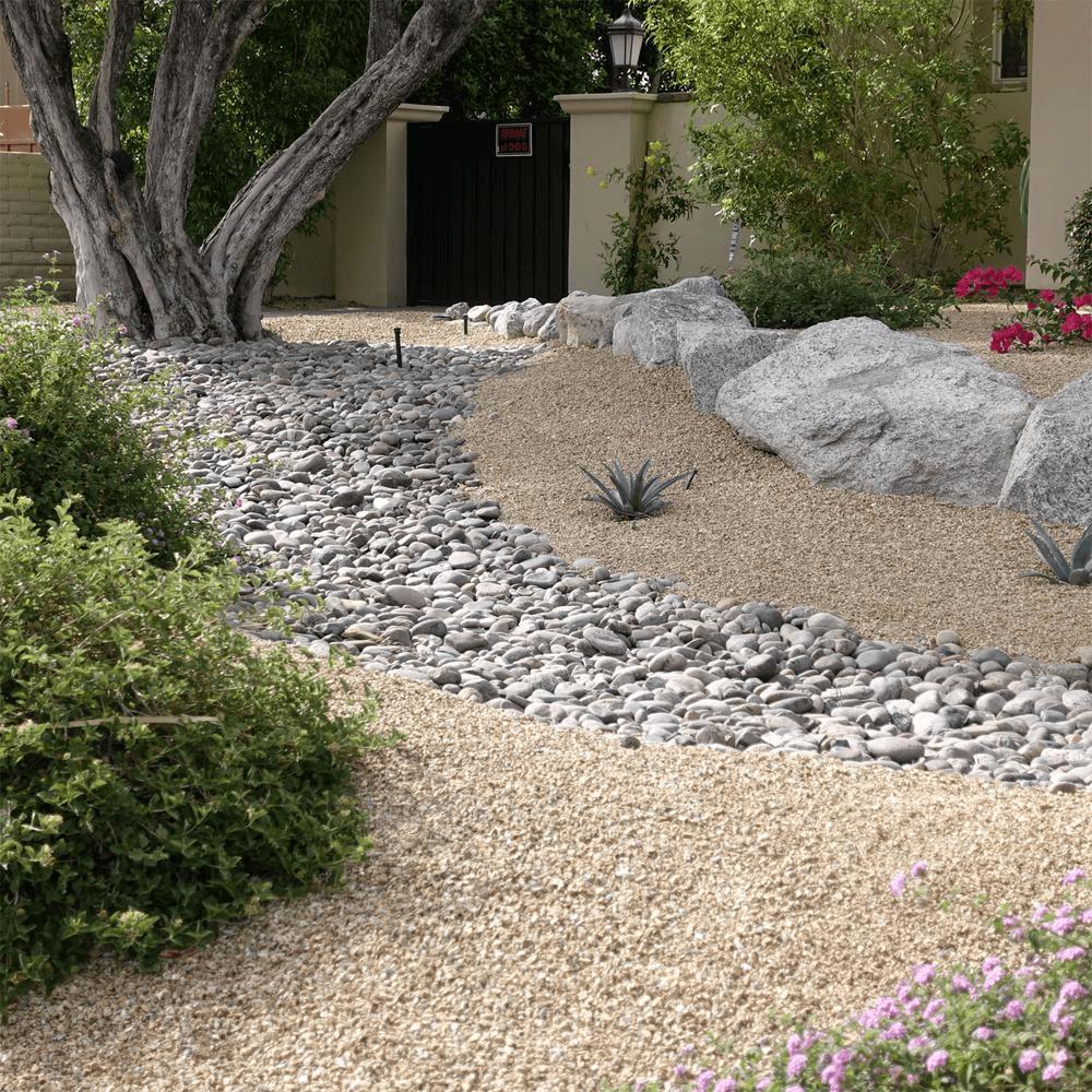 Pebble Pathways - Desert landscaping ideas