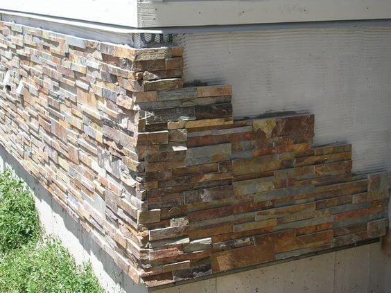 The creativity of Rock Skirting - Porch lattice alternatives