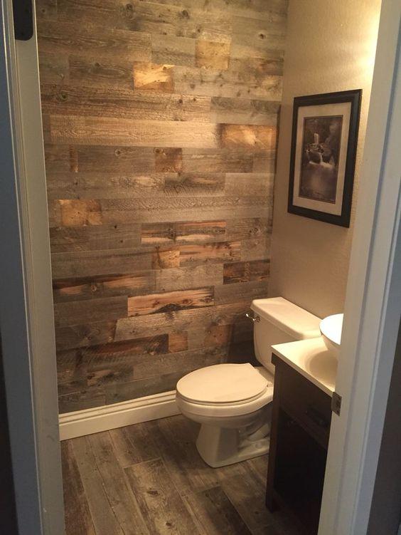 Can you use vinyl flooring on bathroom walls?
