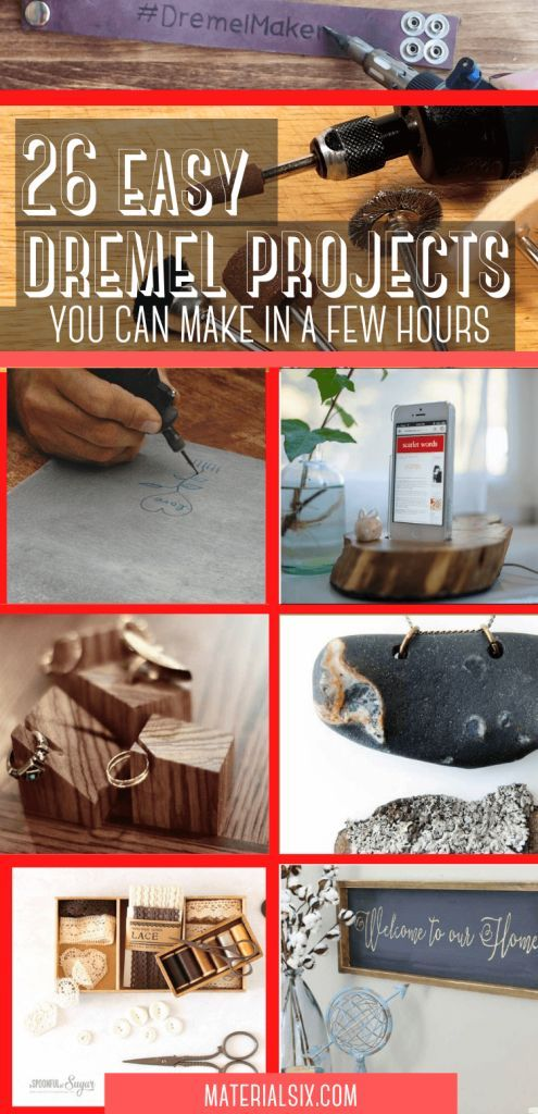 26 Easy Dremel Projects To Begin Right Now