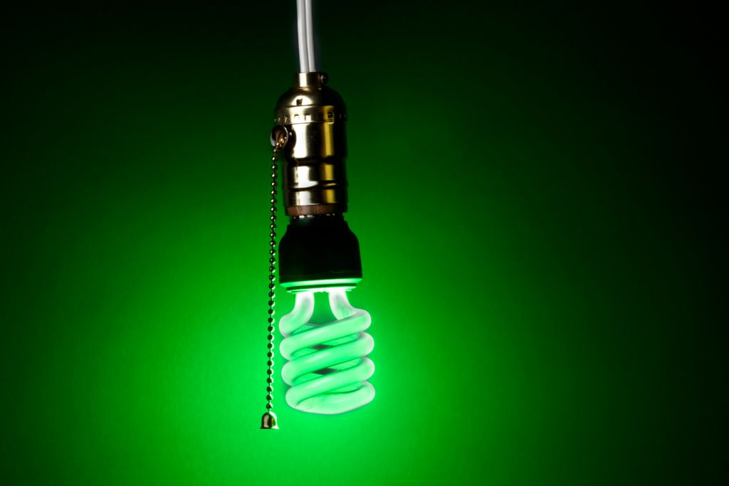 green porch light meaning 2